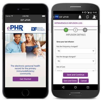 IDF ePHR Mobile App